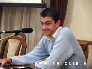 Kassai Viktor a PMLSZ JB továbbképzésén 2008 december 15-én