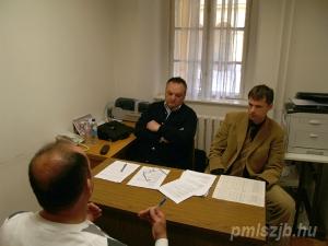 Fekete Miklós és Varga II. András az egyik bizottságban vizsgáztat