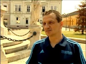 Erős Gábor az interjúban