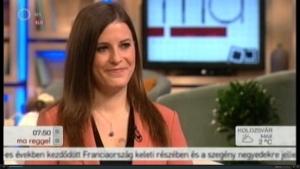 Kulcsár Katalin a műsorban