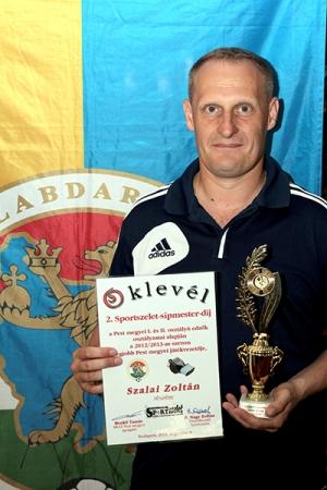 Szalai Zoltán az év legjobbja