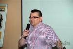 Juhos Attila, az MLSZ JB szakágvezetője tartott tájékoztatást az átalakításokról